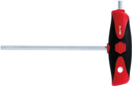 Werkstatt Innen-Sechskantschraubendreher Wiha ComfortGrip 540DS Schlüsselweite (Metrisch): 5 mm Klingenlänge: 150 mm