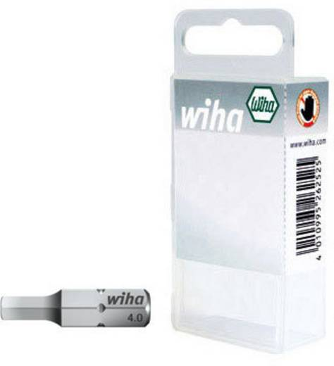 Sechskant-Bit 4 mm, 5 mm, 6 mm Wiha SB-Bit 7013 Z Chrom-Vanadium Stahl gehärtet C 6.3 3 St.