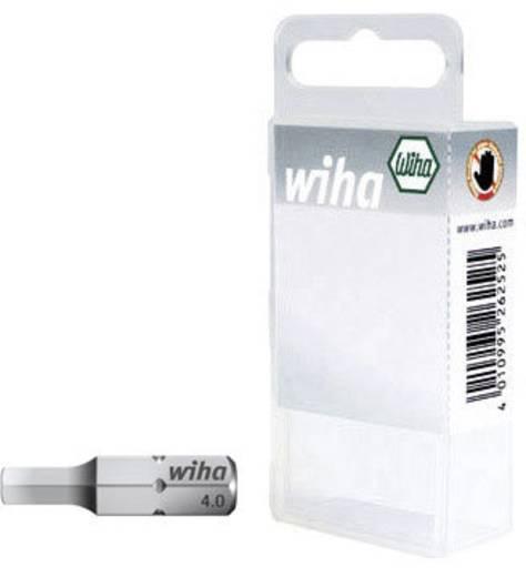Sechskant-Bit 4 mm Wiha SB-Bit 7013 Z Chrom-Vanadium Stahl gehärtet C 6.3 1 St.