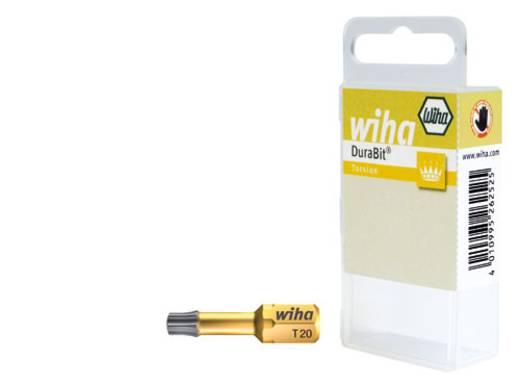 Torx-Bit T 40 Wiha Chrom-Vanadium Stahl nickelbeschichtet C 6.3 1 St.