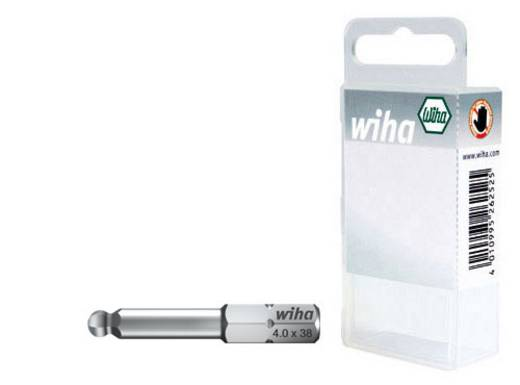 Sechskant-Bit 4 mm, 5 mm, 6 mm Wiha Chrom-Vanadium Stahl gehärtet C 6.3 3 St.