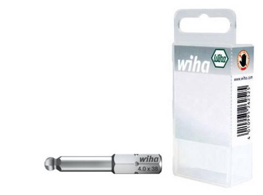 Sechskant-Bit 4 mm, 5 mm, 6 mm Wiha SB-Bit 7017 Z Chrom-Vanadium Stahl gehärtet C 6.3 3 St.