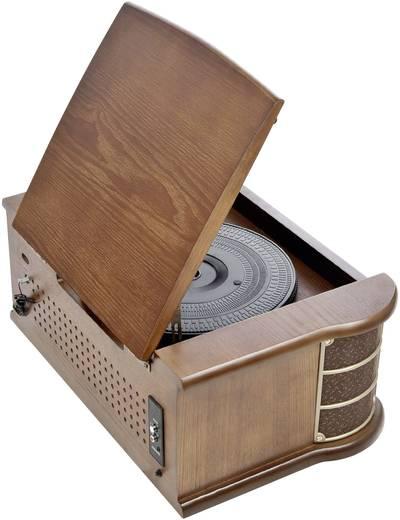 Dual NR 4 USB-Plattenspieler Riemenantrieb Holz