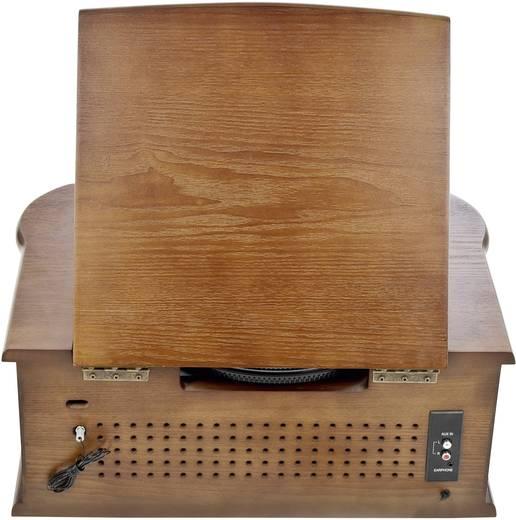 USB-Plattenspieler Dual NR 4 Riemenantrieb Holz