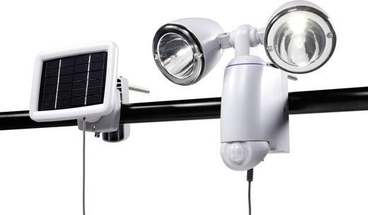Solar-Spot mit Bewegungsmelder 2 W Kalt-Weiß Renkforce SR 028 Duo Grau
