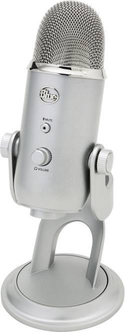 USB studiový mikrofon Blue Microphones Yeti USB-Mikrofon 1851, 155 x 160 x 240 mm, 20 - 20 000 Hz