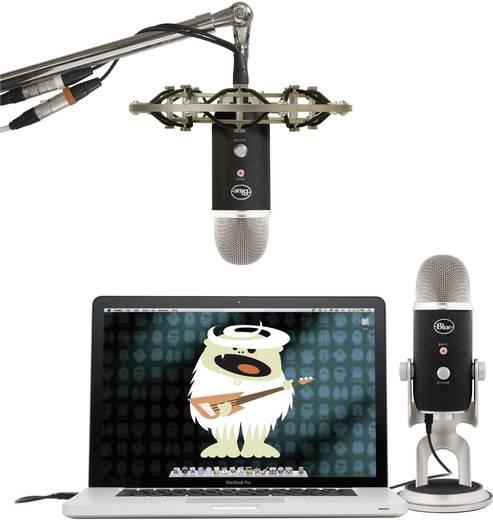 USB-Studiomikrofon Blue Microphones Yeti Pro USB-Mikrofon Kabelgebunden inkl. Kabel