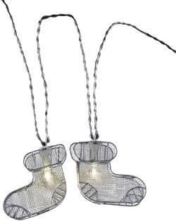 Vánoční řetěz s botami Polarlite, 10 LED, 2,7 m