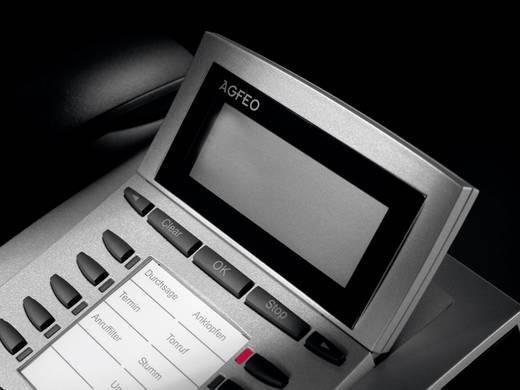 Systemtelefon, ISDN Agfeo Telekommunikation ST 22 Freisprechen Beleuchtetes Display Schwarz