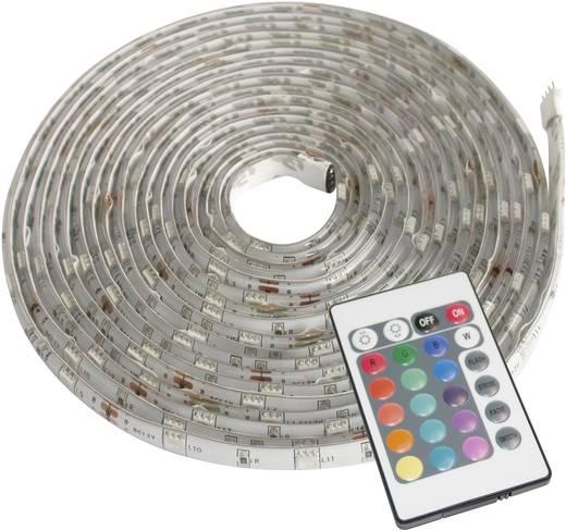 Müller Licht LED-Streifen-Komplettset mit Stecker 12 V 500 cm RGB LED Strip Farbwechsel 57003