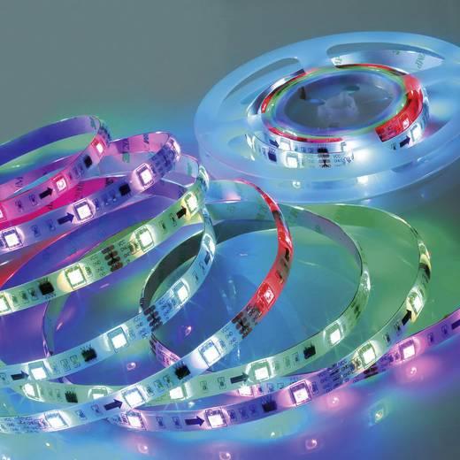 Müller Licht LED-Streifen-Komplettset mit Stecker 12 V 500 cm RGB LED Strip Farbwechsel Digital 57016