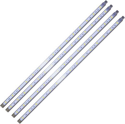 LED-Lichtleisten-Komplettset mit Stecker 12 V 160 cm Neutral-Weiß Müller Licht LED-staven 4000 K 57005