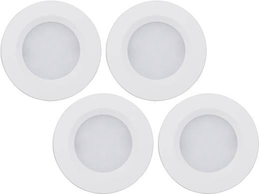 LED-Aufbauleuchte 4er Set 28 W RGB Müller Licht 400079 Weiß