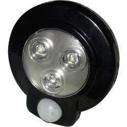 LED podhľadové svetlo s PIR senzorom Müller-Licht 57013, 9.3 cm, čierna