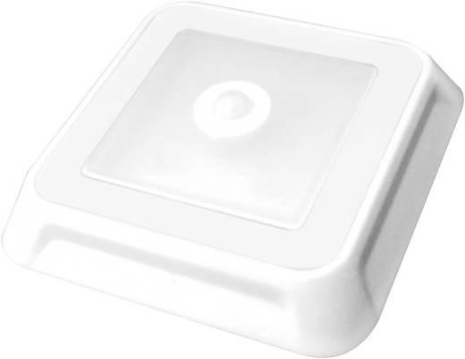 LED-Unterbauleuchte mit Bewegungsmelder 0.5 W Neutral-Weiß Müller Licht 57014 LED Leuchte 4eck Weiß