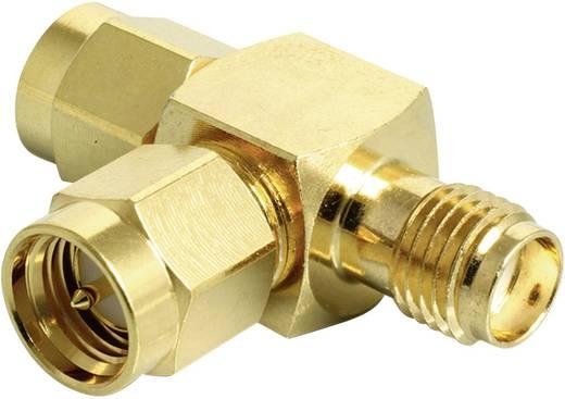 Delock WLAN-Antennen Y-Adapter [2x SMA-Stecker - 1x SMA-Buchse] 0 m Gold