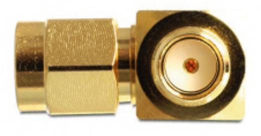 WLAN-Antennen Y-Adapter [2x SMA-Stecker - 1x SMA-Buchse] 0 m Gold Delock