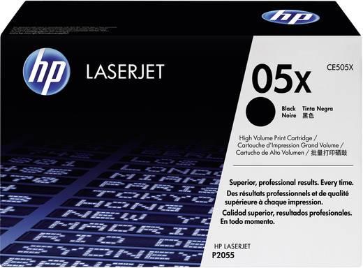 HP Toner 05X CE505X Original Schwarz 6500 Seiten