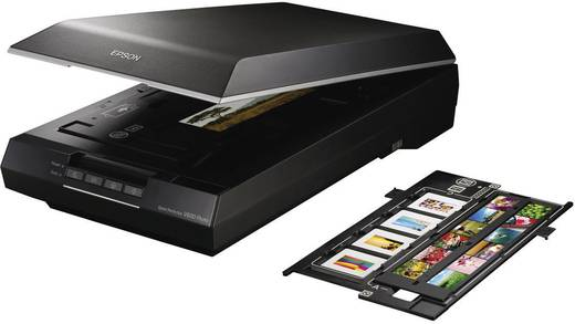 Flachbettscanner A4 Epson Perfection V600 Photo 6400 x 9600 dpi USB Dokumente, Fotos, Dias, Negative