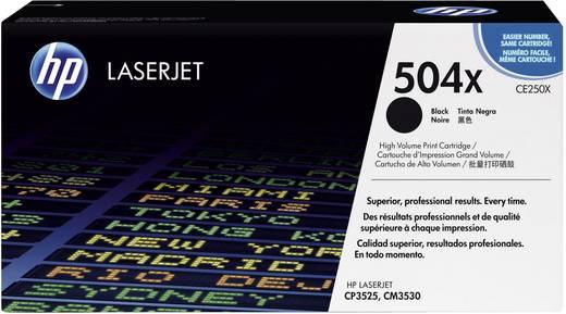 HP Toner 504X CE250X Original Schwarz 10500 Seiten