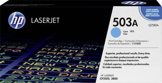 HP Toner 503A Q7581A Original Cyan 6000 Seiten