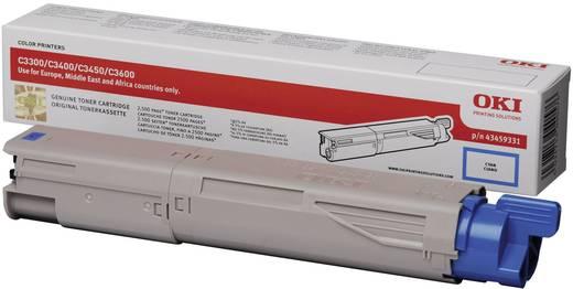 OKI Toner C3300 C3400 C3450 C3600 43459331 Original Cyan 2500 Seiten