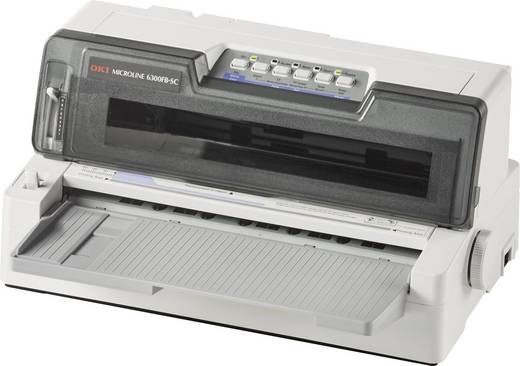 OKI ML6300FB-SC Nadeldrucker 450 Zeichen/s 24-Nadel-Druckkopf, Schmaler Einzug, Druckbreite 80 Zeichen USB, Parallel