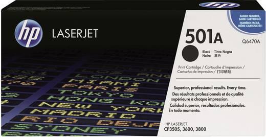 HP Toner 501A Q6470A Original Schwarz 6000 Seiten