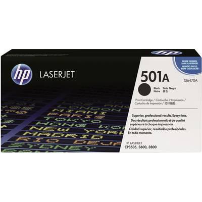 HP Toner 501A Q6470A Original Schwarz 6000 Seiten Preisvergleich