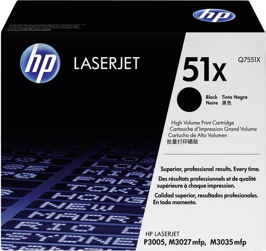 HP Toner 51X Q7551X Original Schwarz 13000 Seiten