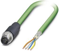 Connectique confectionnée pour capteur/actionneur Phoenix Contact VS-OE-M12MS-93R-LI/2,0 1416251 M12 Mâle droit 2 m Nbr