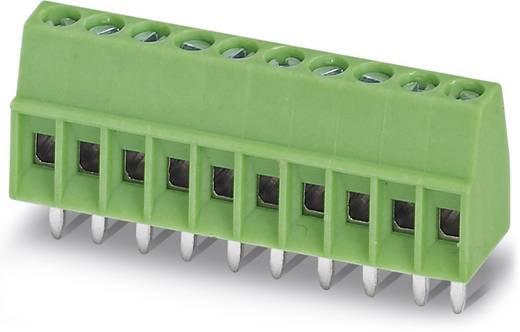Schraubklemmblock 0.50 mm² Polzahl 6 MPT 0,5/ 6-2,54 Phoenix Contact Grün 100 St.