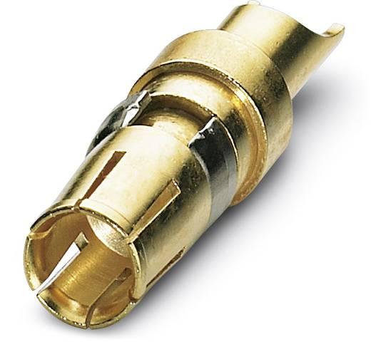 Hochstrom-Buchsenkontakt AWG min.: 14 AWG max.: 12 Vergoldet Phoenix Contact VS-BU-LK-3,6/22,8/2,6 30 St.