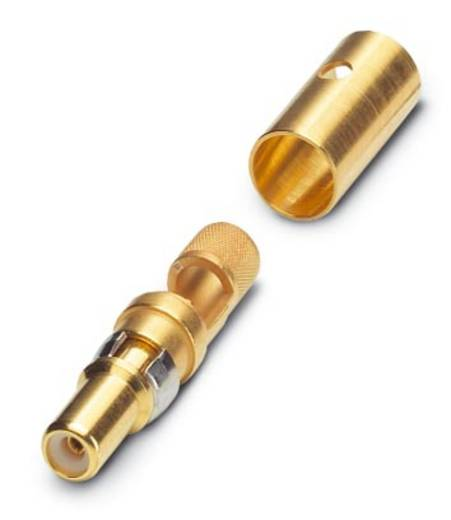 Koaxial-Stiftkontakt Vergoldet Phoenix Contact VS-ST-KX-50-RG58 10 St.