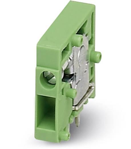 Federkraftklemmblock 1.00 mm² Polzahl 1 ZFKDS 1 W 3,81 Phoenix Contact Grün 50 St.