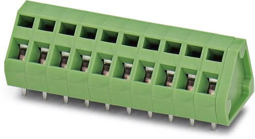 Federkraftklemmblock 1.50 mm² Polzahl 1 ZFKDS 1,5-5,08 Phoenix Contact Grün 250 St.