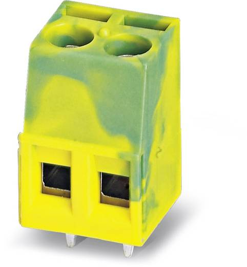 Phoenix Contact MKDS 1,5/ 3-B-5,08 GNYE Schraubklemmblock 1.50 mm² Polzahl 3 Grün-Gelb 50 St.