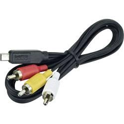 Kábel k adaptéru GoPro Composite Cable ACMPS-301 vhodné pre GoPro Hero HD 3, GoPro Hero HD 3+, akčné/športové kamery