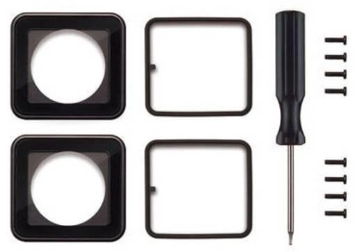 Ersatzlinsen-Set GoPro Lens Replacement Kit ASLRK-301 Passend für=GoPro Hero HD 3, GoPro Hero HD 3+, GoPro Hero 4