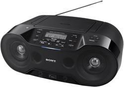 DAB+ rádio s CD Sony ZS-RS70BTB, černá