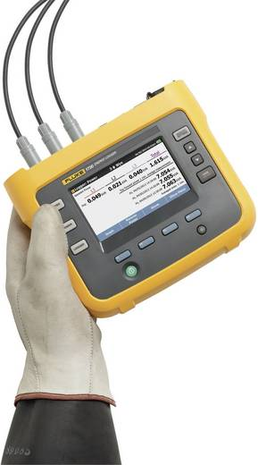 Fluke FLUKE-1730/BASIC Dreiphasiger Energie-Logger Standardset, 4394641 CAT III 1000 V, CAT IV 600 V - DAkkS kalibriert
