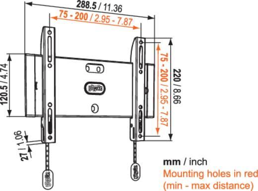 """TV-Wandhalterung 48,3 cm (19"""") - 101,6 cm (40"""") Starr Vogel´s Base 05 S"""