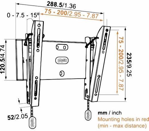 """TV-Wandhalterung 48,3 cm (19"""") - 101,6 cm (40"""") Neigbar Vogel´s Base 15 S"""