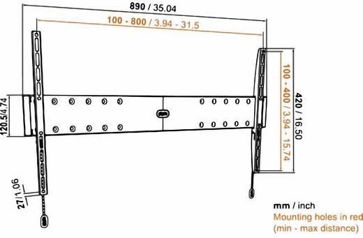 """Vogel´s Base 05 L TV-Wandhalterung 101,6 cm (40"""") - 203,2 cm (80"""") Starr"""