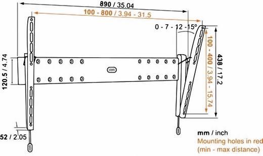 """TV-Wandhalterung 101,6 cm (40"""") - 165,1 cm (65"""") Neigbar Vogel´s Base 15 L"""
