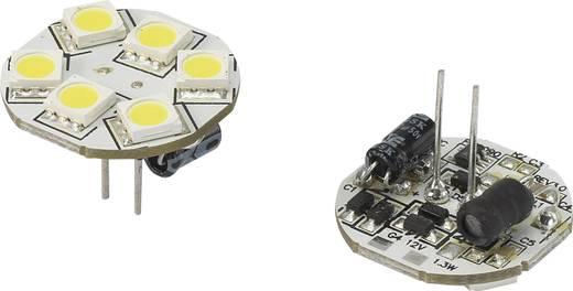 LED (einfarbig) G4 Stiftsockel 1.3 W = 10 W Kaltweiß (Ø x L) 23 mm x 23 mm EEK: n.rel. Renkforce 1 St.