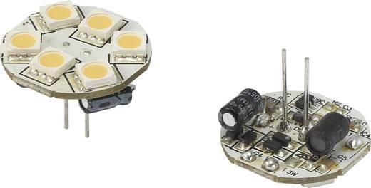 LED (einfarbig) G4 Stiftsockel 1.2 W = 10 W Warmweiß (Ø x L) 23 mm x 23 mm EEK: n.rel. Renkforce 1 St.