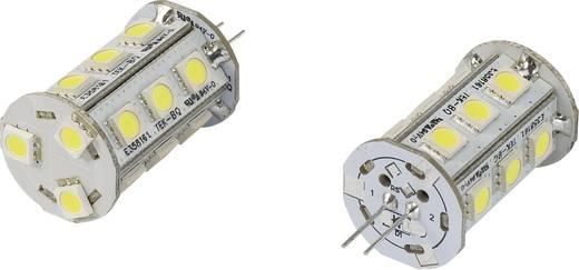 LED G4 Stiftsockel 2.4 W = 15 W Kaltweiß (Ø x L) 22 mm x 42 mm EEK: A Renkforce 1 St.