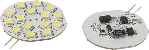 Renkforce LED (einfarbig) G4 Stiftsockel 2.8 W = 15 W Kaltweiß (Ø x L) 44.3 mm x 54.3 mm EEK: n.rel. 1 St.