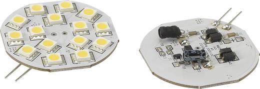 LED (einfarbig) G4 Stiftsockel 2.8 W = 15 W Warmweiß (Ø x L) 44.3 mm x 54.3 mm EEK: n.rel. Renkforce 1 St.